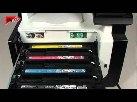 how to replace hp laserjet pro cm1415fnw manual