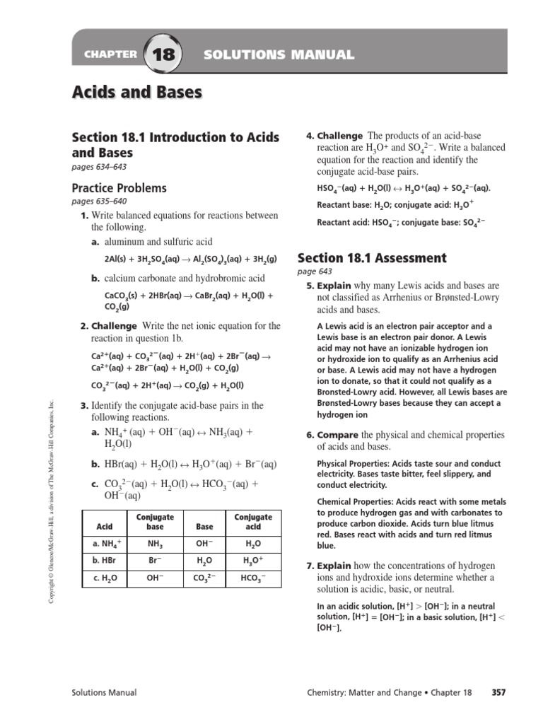chemistry matter and change solutions manual chapter 11