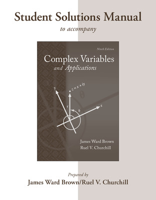 student solutions manual to accompany complex variables and applications