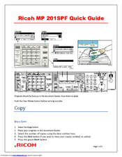 ricoh mp 201 parts manual