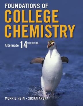 foundations of college chemistry 15th edition solutions manual