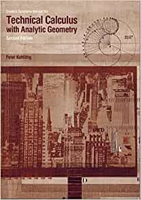 calculus with analytic geometry solutions manual