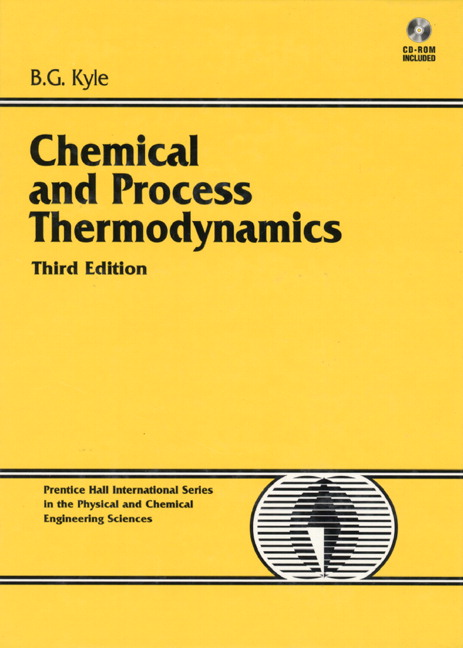 chemical and process thermodynamics kyle solutions manual