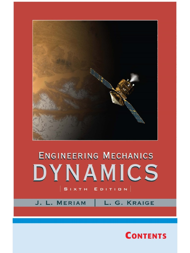 dynamics meriam 5th edition solution manual