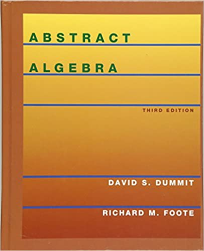 abstract algebra dummit and foote solution manual pdf chapter 7