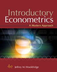 introductory econometrics wooldridge 4th edition solutions manual pdf
