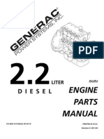 isuzu 4le2 engine parts manual