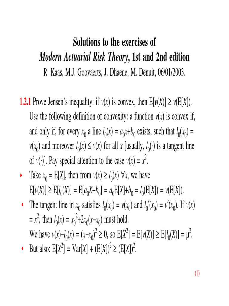 modern actuarial risk theory solution manual pdf