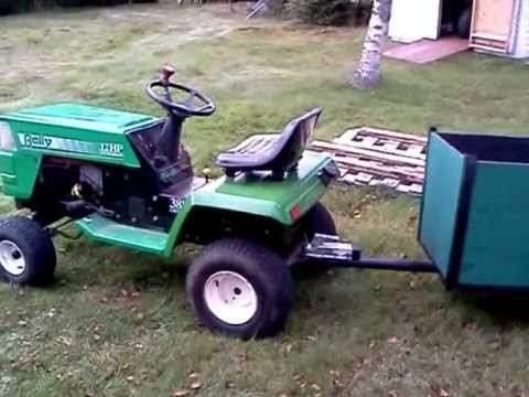 rally 12 hp riding mower manual