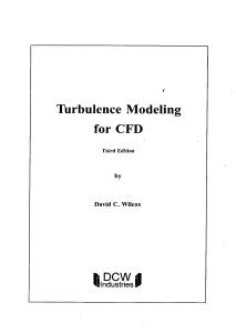 solutions manual turbulence modeling for cfd third edition