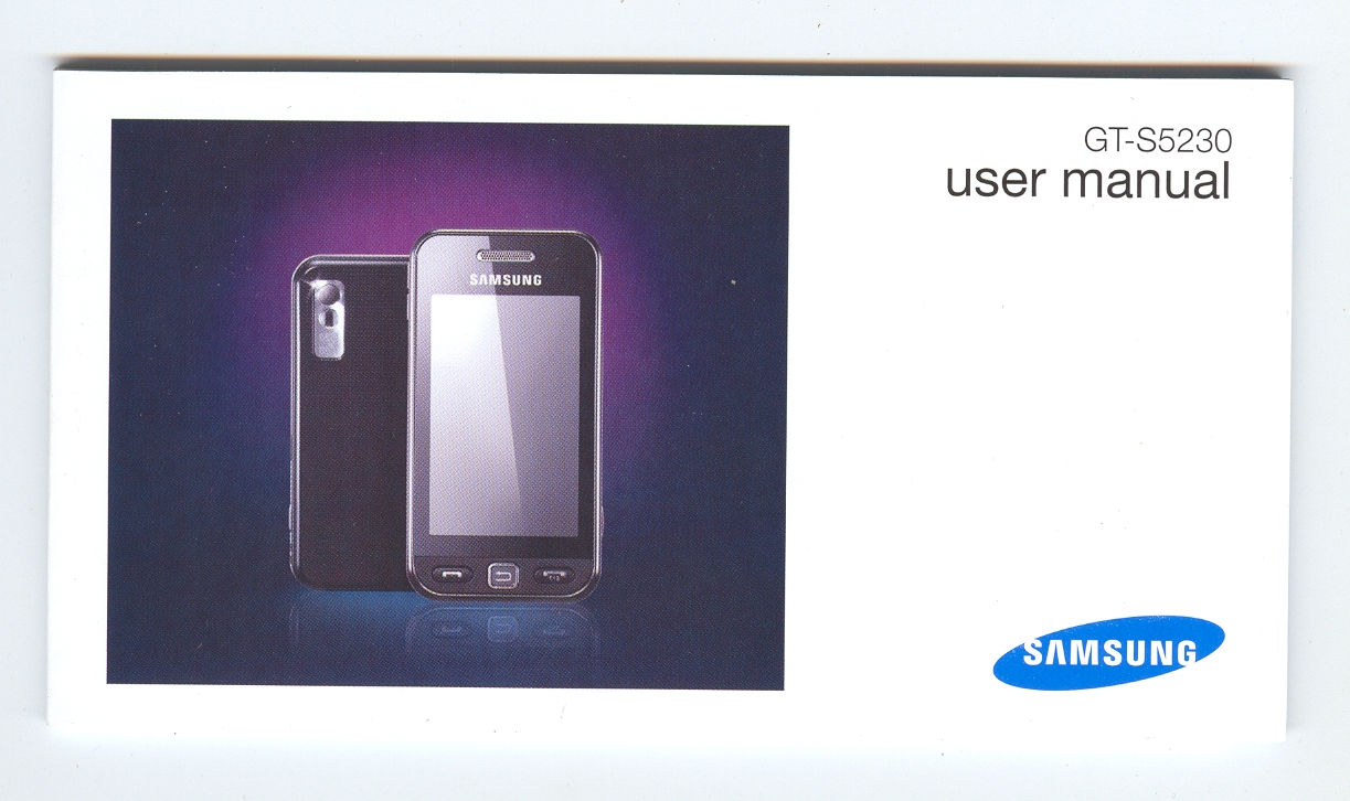 user manual for samsung tocco lite 2